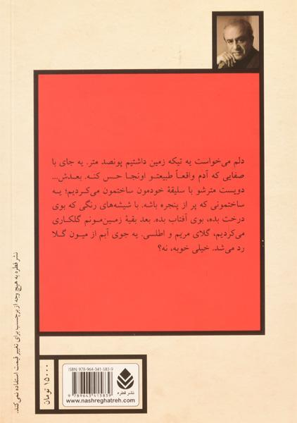کتاب از پشت شیشه ها – اکبر رادی/ نشر قطره