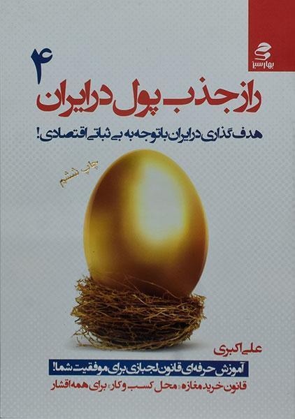 خرید کتاب راز جذب پول در ایران 4
