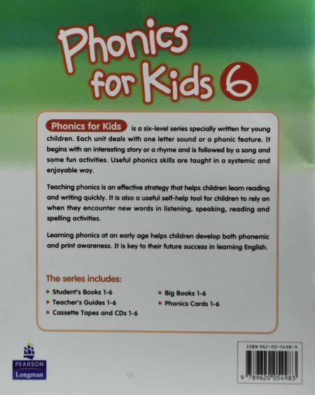 فونیکس فور کیدز ۶ Phonics For Kids CD 2