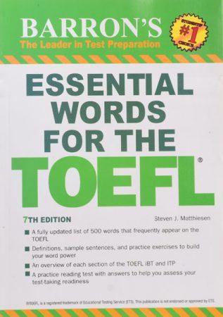خرید کتاب Essential Words For The Toefl