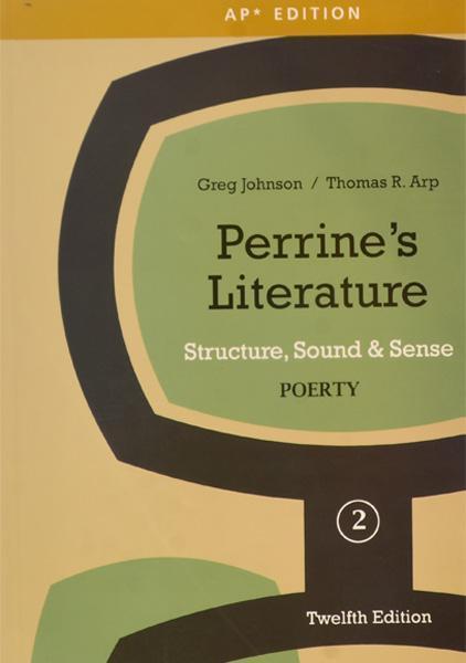 عکس کتاب Perrines Literature Poetry 2 - 12th