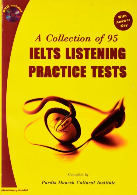 خرید کتاب A Collection of 95 IELTS LISTENING PRACTICE TESTS