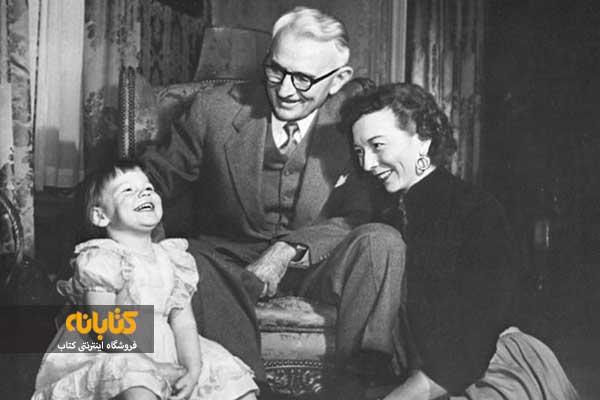 دیل کارنگی و همسرش